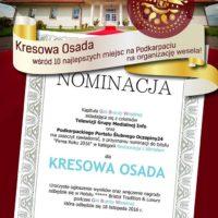 Nominacja Kapituły Branży Ślubnej