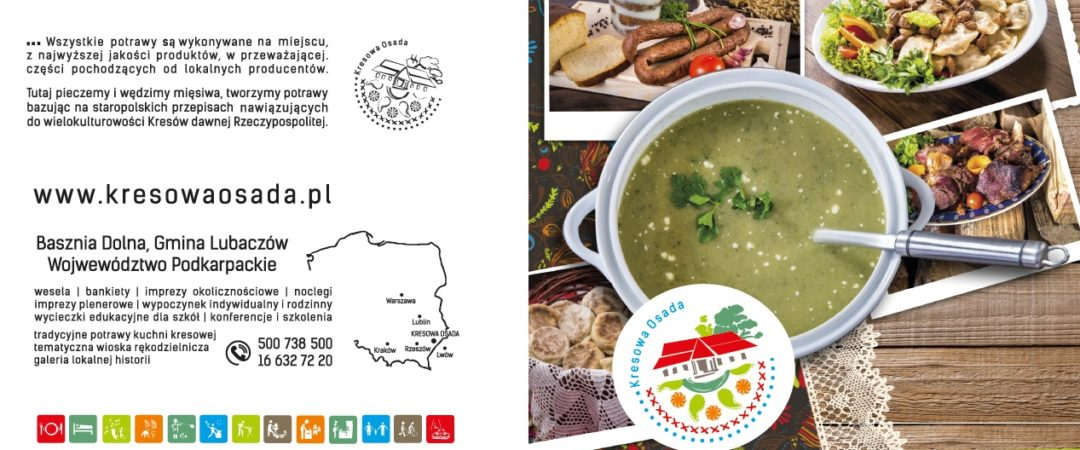 Nowe Letnie Menu Restauracji Kresowa Osada