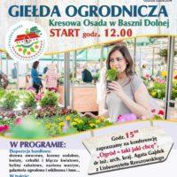 Zapraszamy na Wiosenną Giełdę Rolno-Ogrodniczą
