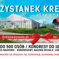 Rusza Przystanek Kresy - nowa hala bankietowo-kongresowa już w kwietniu!