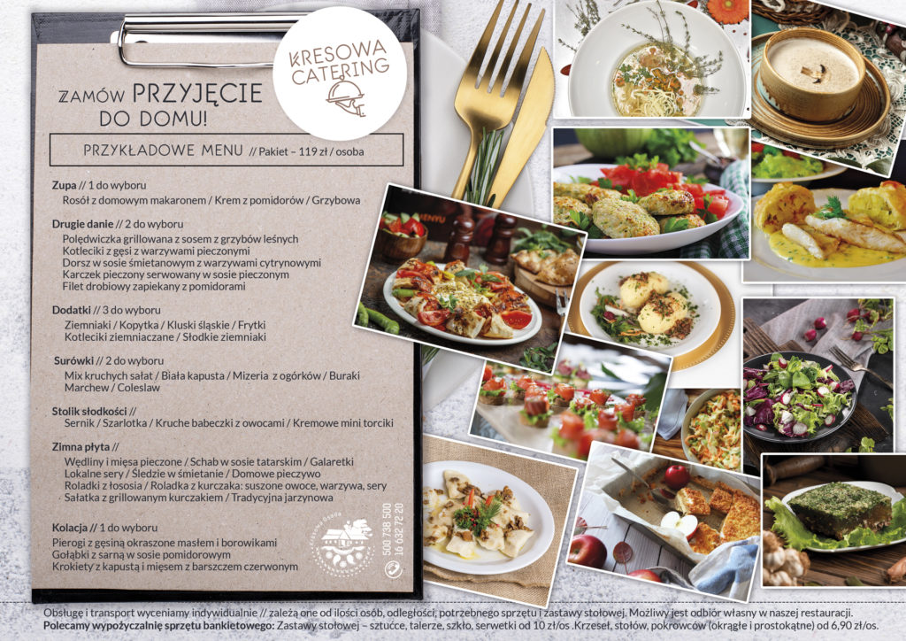 usługi cateringowe Kresowa Osada