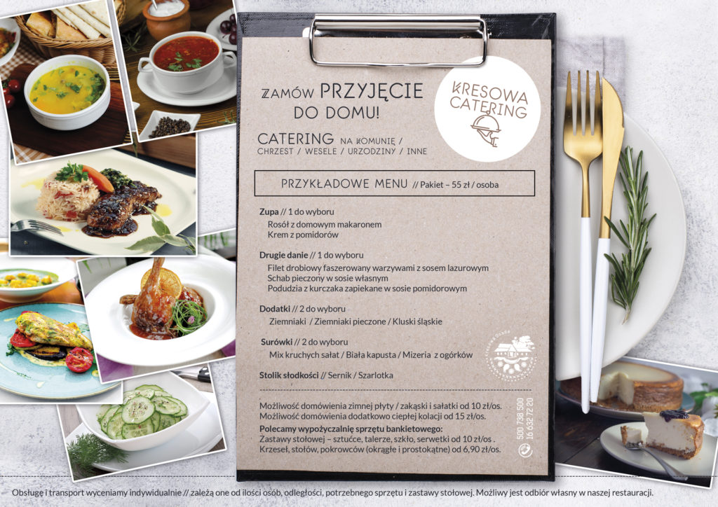 catering Kresowa Osada - menu