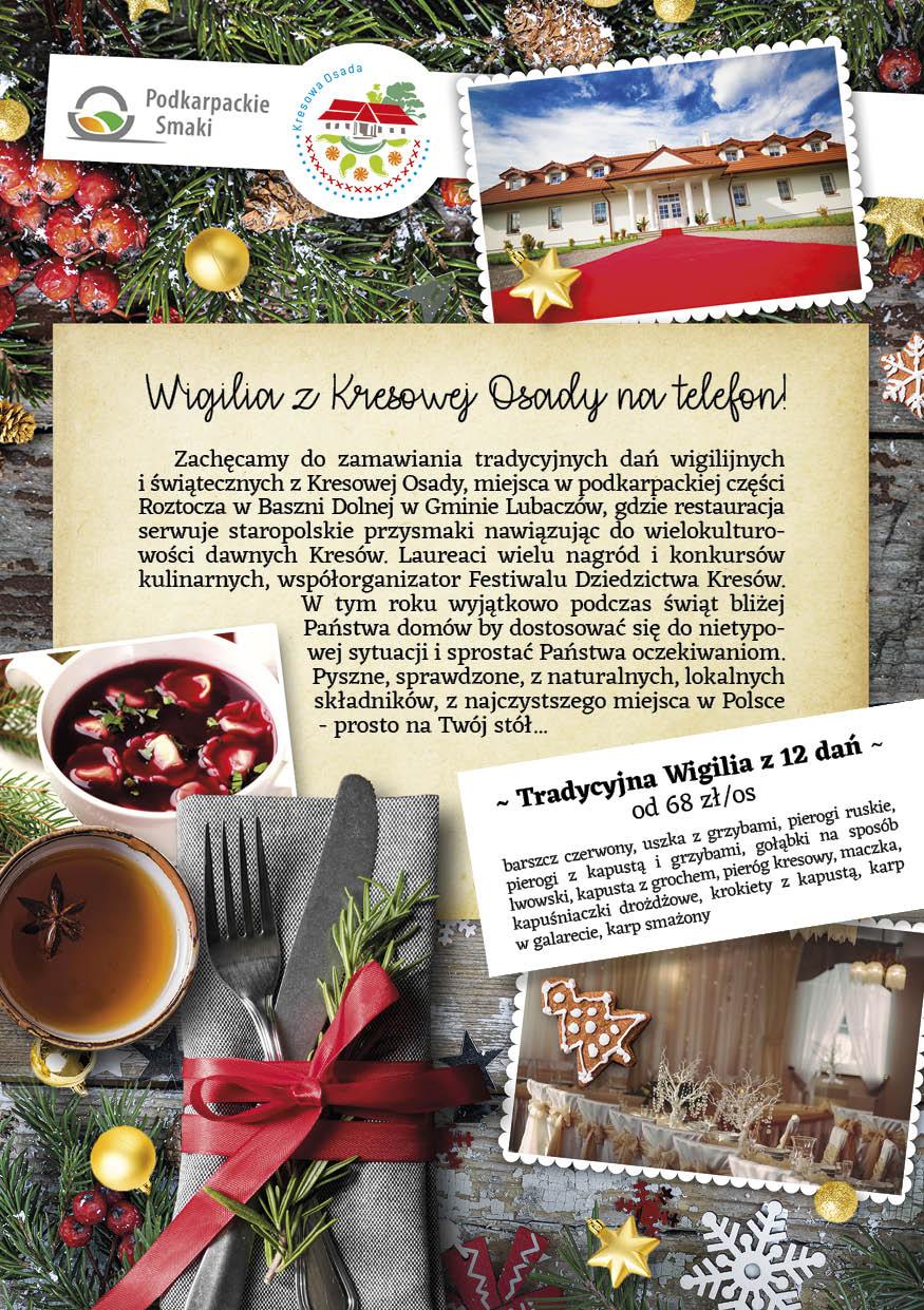 Dania świąteczne z Kresowej Osady